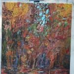 AUTUMN, AUTUMN TRANQUILITY, CANADIAN, LANDSCAPE, LINDA WOOLVEN, OIL PAINTING, ONTARIO
