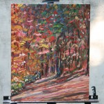 AUTUMN, AUTUMN SPLENDOUR, CANADIAN, LANDSCAPE, OIL PAINTING, ONTARIO