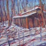 Spring Thaw, Landscape Painting