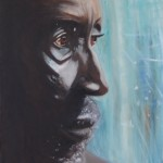LINDA WOOLVEN, OIL PAINTING, PORTRAIT, TREE MAN